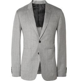 Burberry London - Herringbone Wool Blazer
