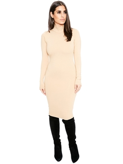 Naked Wardrobe - All Zipped Up Midi Dress