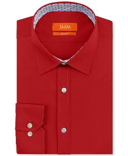 Tallia  - Solid Dress Shirt