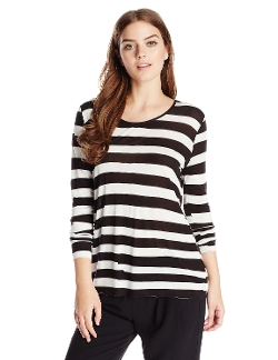 Cheap Monday - Gaffa Irregular Stripe Long-Sleeve T-Shirt