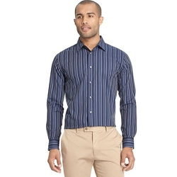 Van Heusen  - Classic-Fit Striped Button-Down Shirt
