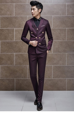 Suit Men China - Mens Double Breasted Suit