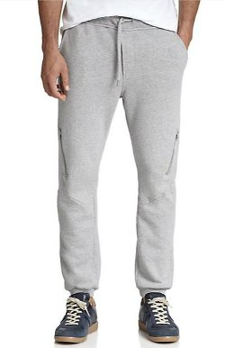 Diesel  - Cotton Zip Sweatpants