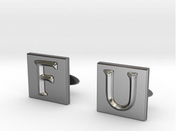 Shapeways - Frank Underwood Cufflinks