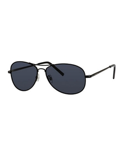 Polaroid  - Round Aviator Sunglasses