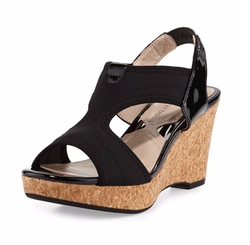 Adrienne Vittadini - Carinea Stretch Wedge Sandal