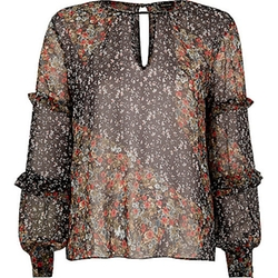 River Island - Floral Print Blouse