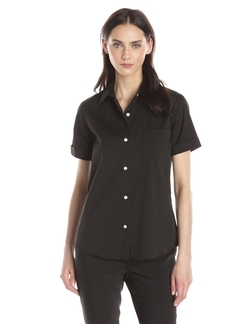 Theory - Short Sleeve Button Down Shirt