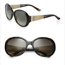 Gucci  - Oversized Round Sunglasses