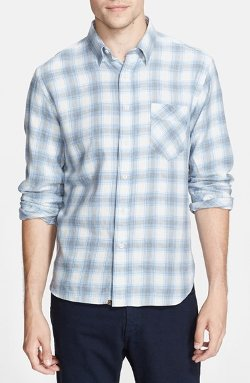 Billy Reid - Walland Plaid Woven Shirt