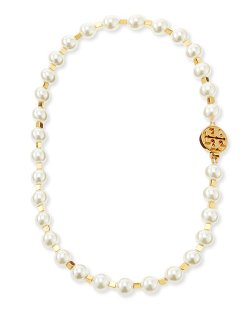 Tory Burch	  - Tilde Short Pearly Necklace