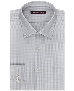 Michael Kors - Small Gingham Dress Shirt