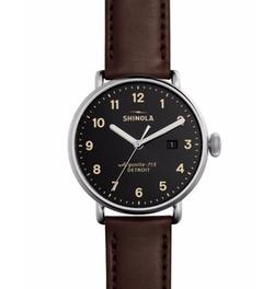 Shinola - Canfield Leather Strap Watch