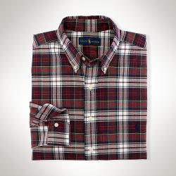 Ralph Lauren - Big & Tall Classic-fit Plaid Oxford Shirt