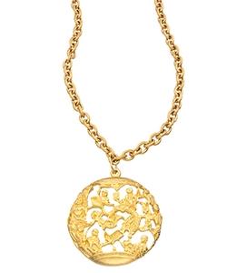 David Aubrey - Tai Medallion Necklace