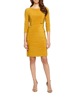 Tahari Arthur S. Levine  - Tiered Sheath Dress