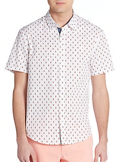 Original Penguin - Pineapple-Print Sportshirt