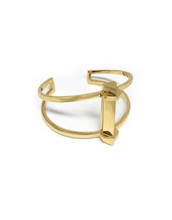 Botkier New York  - Goldtone Vertical Bar Cuff Bracelet