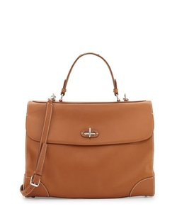 Ralph Lauren  - Tiffin 40 Leather Top-Handle Bag