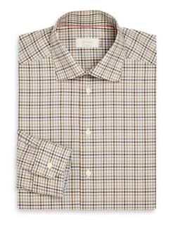 Eton of Sweden  - York  Multicolor Check Twill Dress Shirt