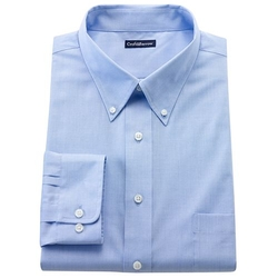 Croft & Barrow - Slim-Fit Solid Easy-Care Button-Down Collar Dress Shirt