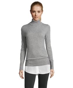 Hayden - Carbernet Cashmere Turtleneck Sweater