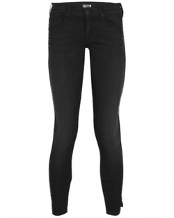 Les Nouvelles - Fashionably Late Vamp Skinny Ankle Slit Jeans