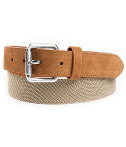 The Tie Bar - Canvas Solid Belt
