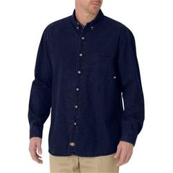 Dickies - Denim Long Sleeve Button Down Shirt