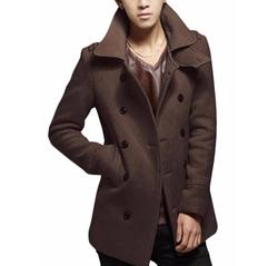 Yuny - Double-Breasted Pea Coat