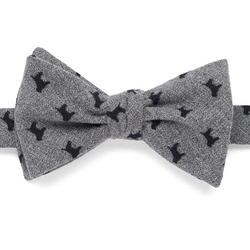 Bow Tie Tuesday - Patterned Self-Tie Bow Tie
