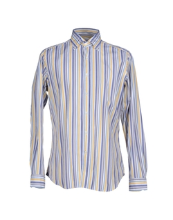 Agho - Stripe Button Down Shirt