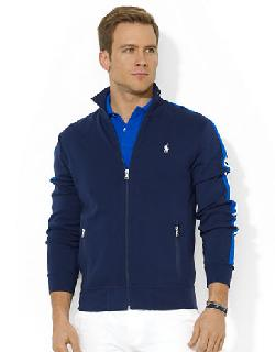 POLO RALPH LAUREN  - Cotton Interlock Track Jacket