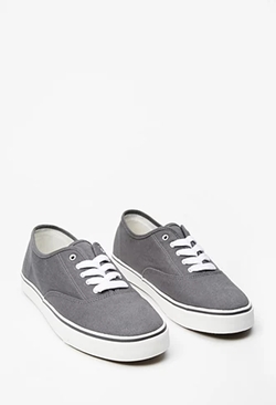 21 Men - Classic Canvas Plimsoll Shoes