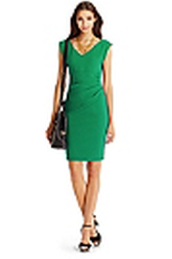 DVF - Bevin Ceramic Ruched Sheath Dress