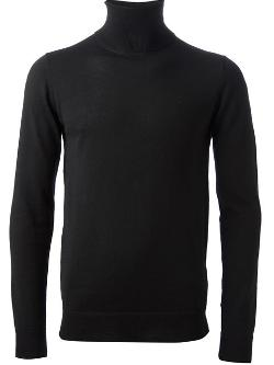 Diesel Black Gold  - Ribbed Roll Neck Sweater