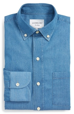 Ledbury - Chambray Dress Shirt
