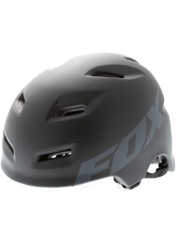 Fox  - Matte Black Transition Mtb Helmet