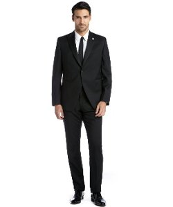 Lubiam - Wool Single Button Tuxedo