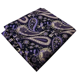Shlax&Wing  - Paisley Pocket Square