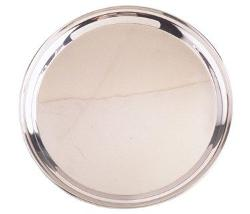 Libertyware - 16 Inch Round Stainless Steel Serving Tray
