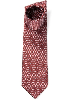 Lanvin - Screws Print Tie