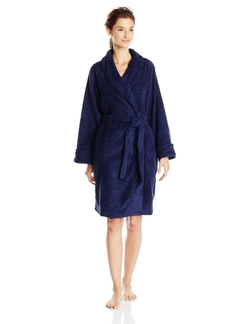 Casual Moments - Shawl Collar Wrap Robe