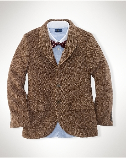 Ralph Lauren - Wool-Blend Herringbone Jacket