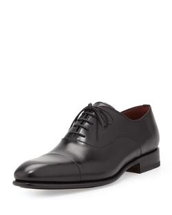 Magnanni - Cap-Toe Lace-Up Balmoral Shoes