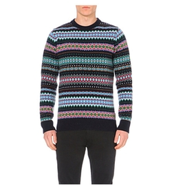 Barbour - Caistown Fair Isle Wool Jumper