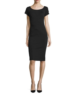 Nicole Miller Artelier - Ponte Body-Conscious Sheath Dress