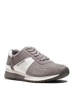 Michael Michael Kors  - Allie Suede Training Sneakers
