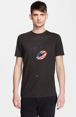 Paul Smith Jeans  - Voices Of America Slim Fit Graphic T-shirt