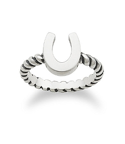 James Avery - Horseshoe Twisted Wire Ring